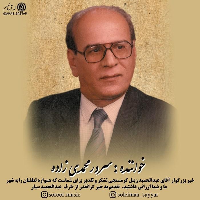 سرور محمدی زاده